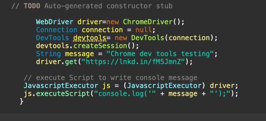 ChromeDriver Script